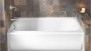 "Bathtubs 60 X 32 Kohler Bancroft Alcove 60"" X 32"" soaking Bathtub & Reviews"