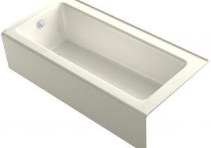 """Bathtubs 66 X 32 Bellwether Alcove 66"""" X 32"""" soaking Bathtub"""