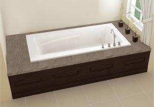 "Bathtubs 66 X 32 Oceania Sublime 66"" X 32"" X 21 5"" Alcove soaking Bathtub"
