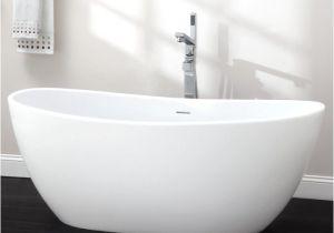 "Bathtubs 70 65"" Lacota Resin Freestanding Tub Matte Finish In 2019"