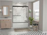 Bathtubs Doors 3 Coastal Shower Doors Paragon 3 16b Series 60 In X 57 In