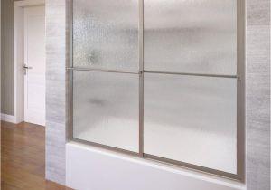 Bathtubs Doors 4 Basco Deluxe 56 In X 56 In Framed Sliding Tub Door In
