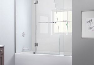 Bathtubs Doors 4 Dreamline Aqua 56 60 In W X 58 In H Frameless Hinged