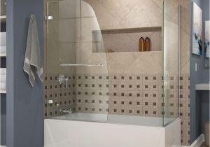 Bathtubs Doors 4 Dreamline Aqua Uno 60 In X 58 In Semi Framed Hinged Tub