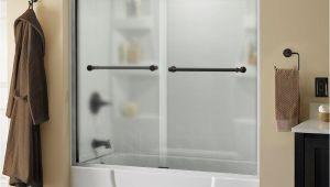 Bathtubs Doors 6 Delta Mandara 60 In X 56 1 2 In Semi Frameless Sliding
