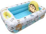 Bathtubs for Infants toddlers Garanimals Inflatable Baby Bathtub Walmart