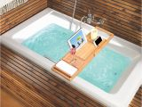 Bathtubs for Large Bathroom Langria Bamboo Bathtubtray Handcrafted Bath Tray Bathroom