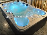 Bathtubs Large 6 Big Victory Shape Pop Up Speaker Hot Tub Outdoor Spa for 9