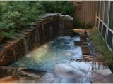 Bathtubs Large 7 In Ground Spa with Waterfall