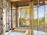 Bathtubs Large and Modern Bathrooms with Sunken Bathtubs