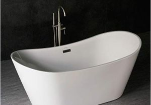 "Bathtubs Made In Usa Empava 67"" Made In Usa Luxury Freestanding Bathtub Acrylic"