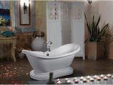 Bathtubs Menards Amber Double Slipper Bathtub at Menards
