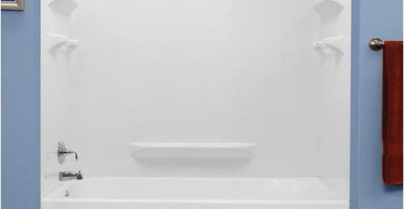 "Bathtubs Menards Lyons Palm Springs 60"" X 32"" Bathtub Wall Surround at Menards"