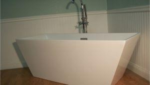 "Bathtubs Modern 4 M 1018 64"" Modern Free Standing Bathtub & Faucet Clawfoot"