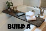Bathtubs soaking G Nearly Handmade so Simple Bathtub Table