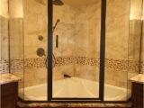 Bathtubs soaking J Nice Corner Shower and Bathtub Bo with Glass Shower