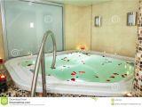 Bathtubs soaking Z Bath Of A Jacuzzi Stock Photo Image Of Heat Green Rose