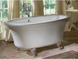 Bathtubs where to Buy Jetted Dual Ended Clawfoot Tub with Air Bath