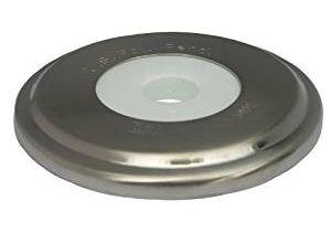 Bathtubs Zw Lasco 03 6015 Bathtub Spout with Round Trim Plate Satin