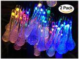 Battery Powered Christmas Lights Amazon Amazon Com 2 Pack solar Strings Lights Lemontec 20 Feet 30 Led