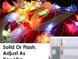 Battery Powered Christmas Lights Amazon Amazon Com Moko Xmas Tree String Lights 5m 16ft 40 Led Waterproof
