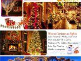 Battery Powered Christmas Lights Amazon Qedertek 2 Pack solar Lights Outdoor 72ft 200 Led solar String