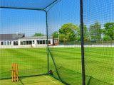 Batting Cages for Backyard Amazon Com fortress Mobile Baseball Batting Cage Portable