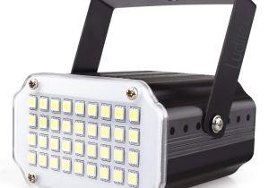Bayco Lights Amazon Com Mini Halloween White Led Strobe Light sound Activated