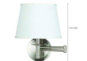 Bayco Lights Kenroy Home 21011bs Sheppard Wall Swing Arm Lamp Brushed Steel