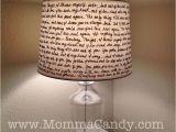 Bed Bath and Beyond Black Lamp Shades Diy Quote Lampshade Diy Crafting Pinterest Diy Lamp Shades
