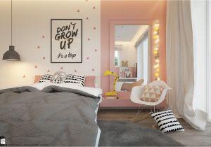 Bedroom Design for Teenage Girl Pok³j Dziecka Styl Skandynawski Zdjęcie Od Elementy Pracownia