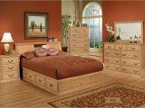 Bedroom Furniture Sets Queen Traditional Oak Platform Bedroom Suite Queen Size