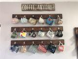 Beer Glass Wall Rack Coffee Mug Rack Hanging Coffee Mugs On the Walls Kitchen