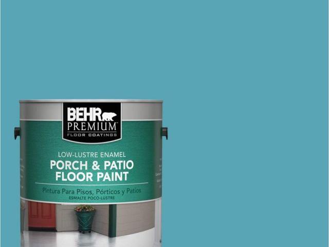 Behr Porch And Floor Paint On Concrete Behr Premium 1 Gal M470 5
