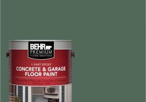 Behr Porch And Patio Floor Paint Home Depot Behr Premium 1 Gal Pfc 40 Green  1