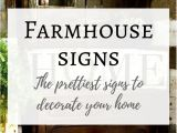 Believe Signs Decor I Have Found the Prettiest Farmhouse Style Signs and Listed them
