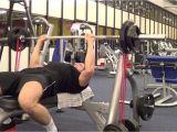 Bench Press Set with Weights Flachbankdra¼cken Mit Ba¤ndern Banded Benchpress Youtube