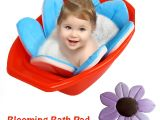 Best Baby Bathtub for Double Sink Baby Blooming Bath Mat Bathtub Foldable Aid soft Liner
