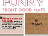 Best Door Rugs for Dogs the Best Funny Front Door Mats On Amazon Pinterest Front Door