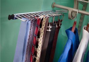 Best Electric Tie Rack 55 Tie and Belt Storage Natural Tie Belt Rack the Container Store