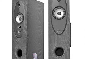 Best Floor Standing Speakers Under 10000 Buy F D T30x tower Speakers Black Online at Best Price In India