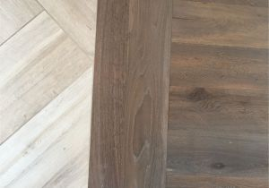 Best Flooring for Concrete Slab Bathroom Floor Transition Laminate to Herringbone Tile Pattern Model