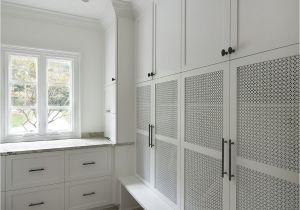 Best Flooring for Mudroom Mudroom with Mesh Panel In Cabinet Doors Brick Herringbone Floor