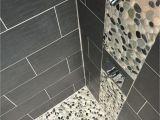Best Grout for River Rock Shower Floor Maui Pebble Tile White Pebbles Pebble Tiles and Black Pebbles