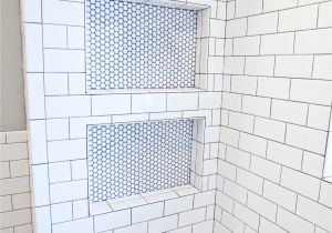 Best Grout for Shower Floor Shower Cubies Under Shower Head 20k Bathroom Reno Budget Labor