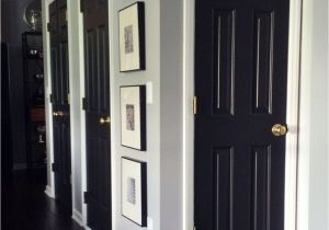 Best Paint for Interior Doors Uk How to Paint Interior Doors Black Update Brass Hardware White