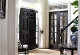 Best Paint for Interior Doors White Black Internal Doors Pinterest Curtain Door Door Curtains and