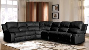 Best Rated Leather Sectional sofas Shop Classic Oversize and Overstuffed Corner Bonded Leather