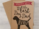 Best Rugs for Dogs Uk Best Dog Dad Ever Card by Well Bred Design Notonthehighstreet Com