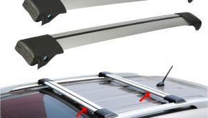 Best Ski Rack for Car A A Partol 2pcs Car Roof Rack Cross Bar Lock Anti theft Suv top